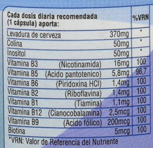 SOTYA - SOTYA B Complex 60 cápsulas 600 mg: Amazon.es: Salud y cuidado personal