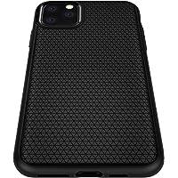 Spigen Liquid Air Kompatibel mit iPhone 11 Pro Hülle, Stylisch Muster Silikon Capsule Handyhülle für iPhone XI Pro Case Schwarz 077CS27232