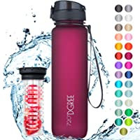 """720°DGREE Trinkflasche """"uberBottle"""" +Früchtebehälter - 1L - BPA-Frei - Wasserflasche für Sport, Fitness, Uni, Fahrrad, Outdoor - Sportflasche aus Tritan - Leicht, Bruchsicher, Nachhaltig"""
