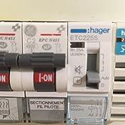 Hager Etc225s Contacteur Silencieux Journuit 25 A 2na 230 V