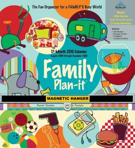 Family Plan-It Plus - Magnetic 2010 Magnetic Calendar
