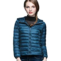 5ac79567470a CHERRY CHICK Women's Ultra-Light Down Jacket with Hood (Perfect for Spring  & Autumn