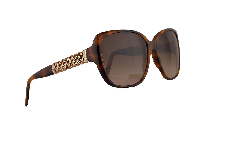 6be269577929 Amazon.com  Chopard SCH184S Sunglasses Tortoise Brown w Brown Gradient Lens  58mm 752 SCH184 S SCH 184S  Clothing