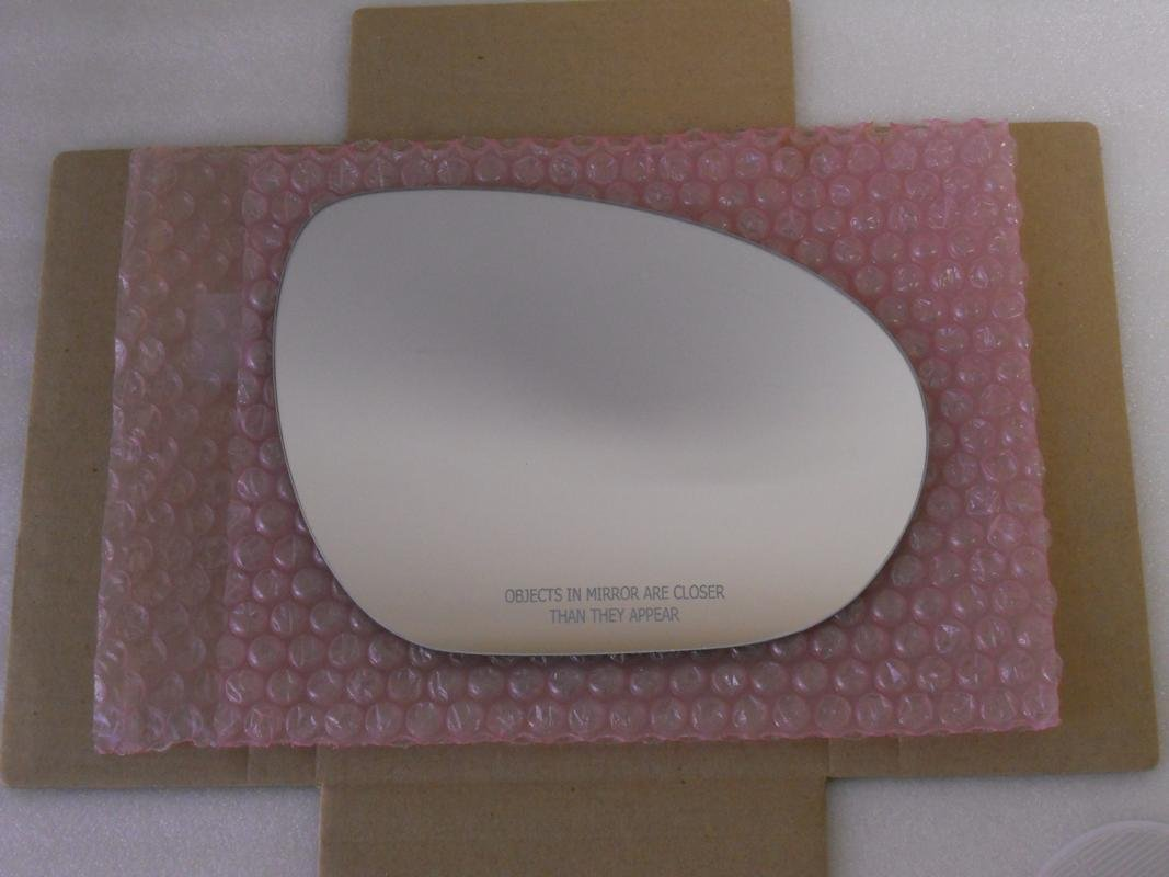 HEATED Mirror Glass with BACK PLATE for NISSAN JUKE CUBE Passenger Side View Right RH