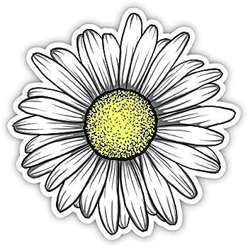 Amazon.com: Sunflower Daisy Ying Yang Icon Vinyl Decal