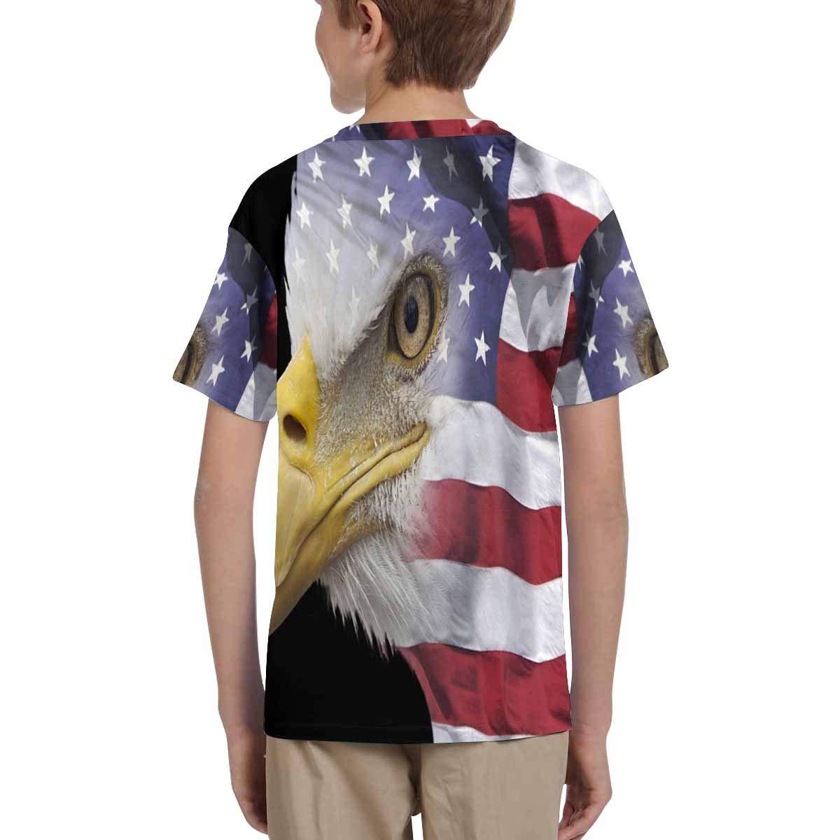 INTERESTPRINT Kids Short Sleeve T-Shirt XS-XL