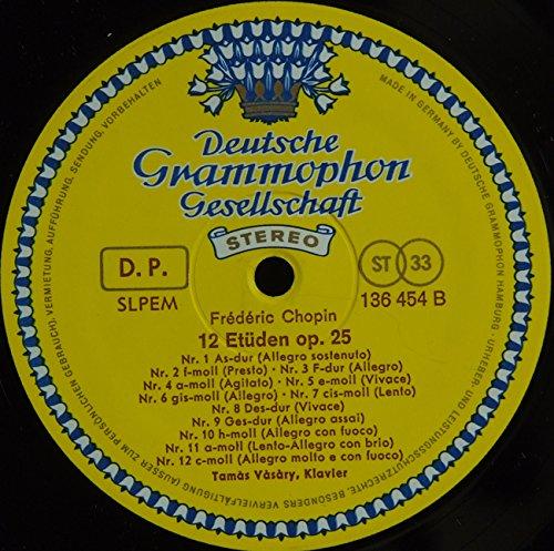 Chopin: Etudes Op.10 und Op.25 by Deutsche Grammophon