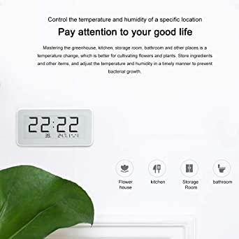 For Mijia Digital Thermometer Hygrometer Indoor Humidity Sensor With Bluetooth Home Temperature Humidity Sensor Business Industry Science