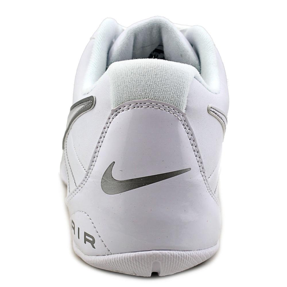 e91542d9596 Galleon - Nike Mens Air Baseline Low Basketball Shoes-White White-Metallic  Silver-9.5