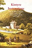 Kintyre Instructions, Eric R. Cregeen and Angus Martin, 1845301099