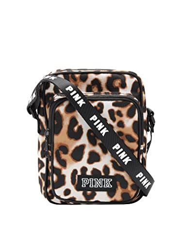 f57f1bcb489b1 Victoria's Secret PINK Sport Crossbody Bag Leopard: Handbags: Amazon.com