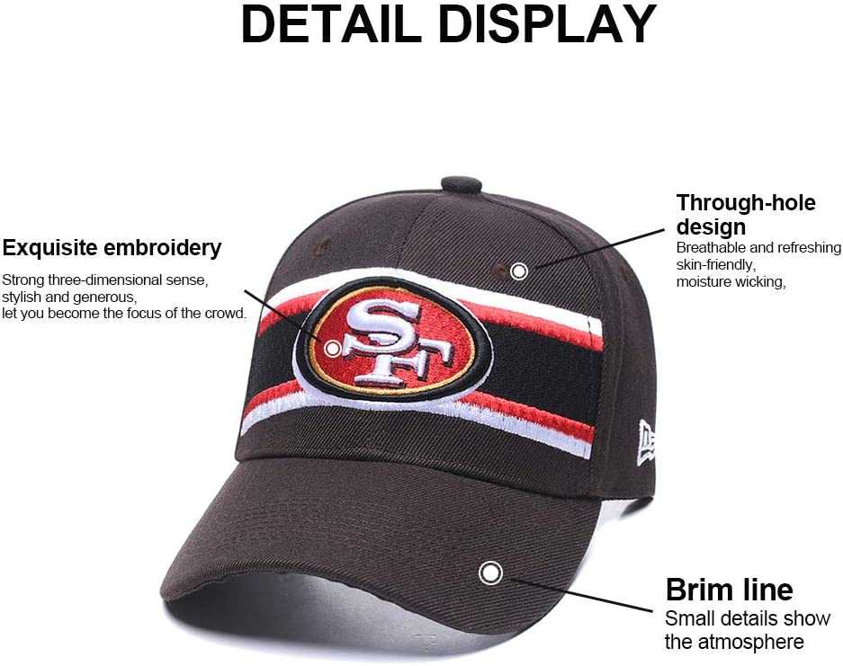 Fit 49e Xiaoha Store Baseball Hat 2019 Thanksgiving Day Commemorative with Team Logo Unisex Fashion Baseball Cap