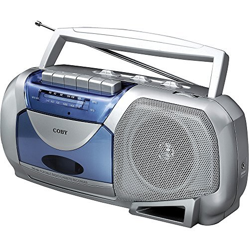Coby Portable Tape Cassette Player/Recorder With AM/FM Radio