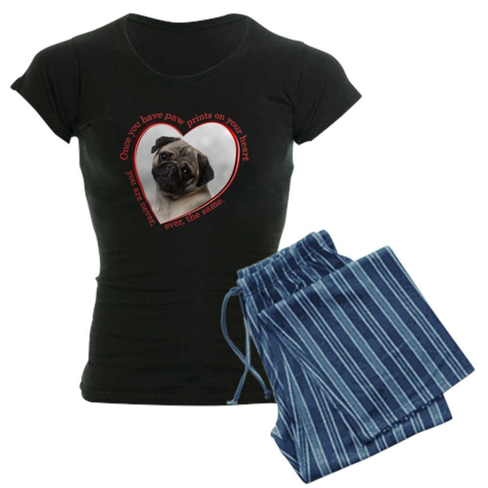 CafePress - Pug Paw Prints Pajamas - Womens Pajama Set