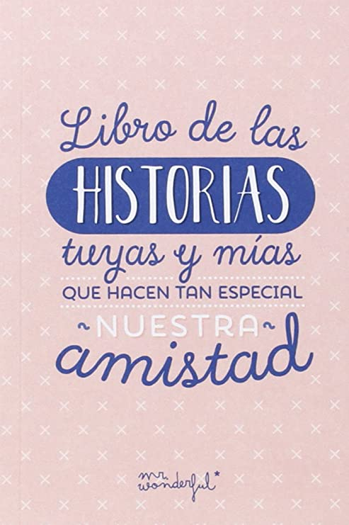 Mr Wonderful Book Libro De Las Historias Tuyas Y Mías