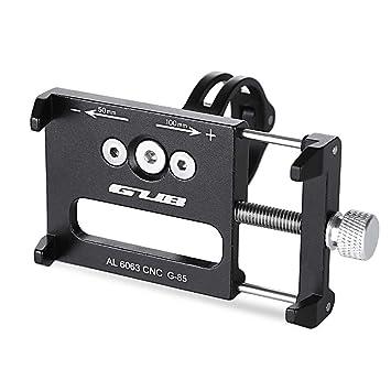 GUB G - 85 Soporte de Bicicleta Para Teléfono Celular Universal Prevención de Caídas Manillar de la ...
