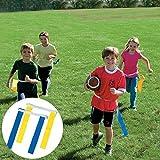 Football Flag Velcro Belt School Sports Kit 2 Pairs 2 Players
