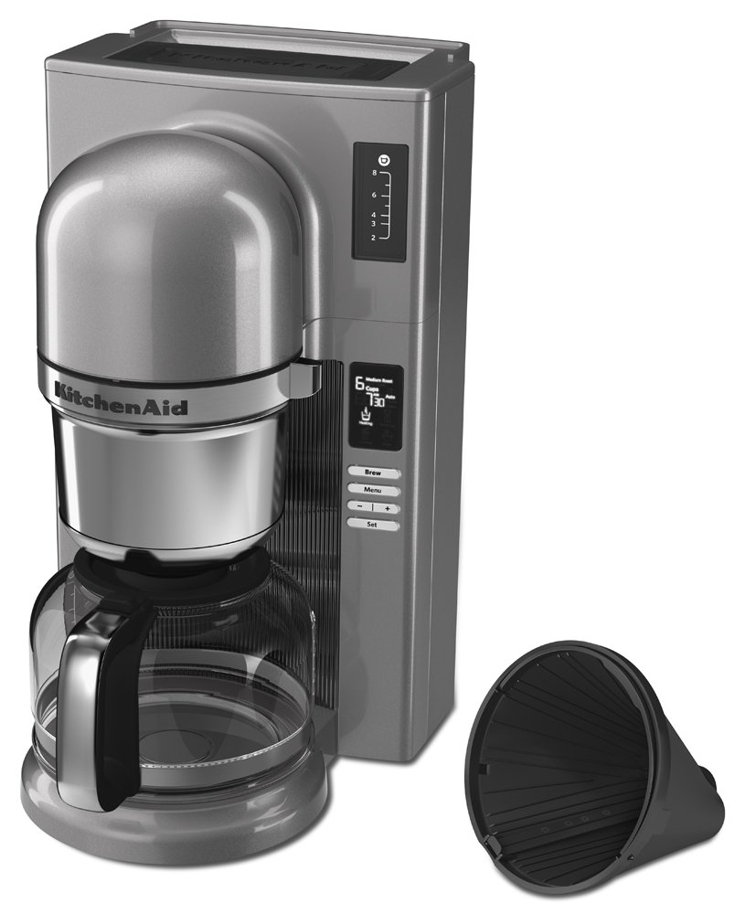Empire Red KitchenAid KCM0802ER Pour Over Coffee Brewer