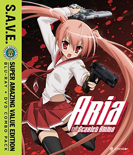 Aria the Scarlet Ammo - Season One [Blu-ray]