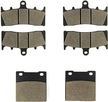 RW//RX//RY//RK1-RK3 99-07 98-03 SK//K 93-98 // GSXR 1100 W 01-05 MEXITAL One Set Ceramic Motorbike Brake Pads Front and Rear for GSXR 750 // GSF 1200 94-99 MX188-188-63 // GSX 1300 R // TL 1000 R