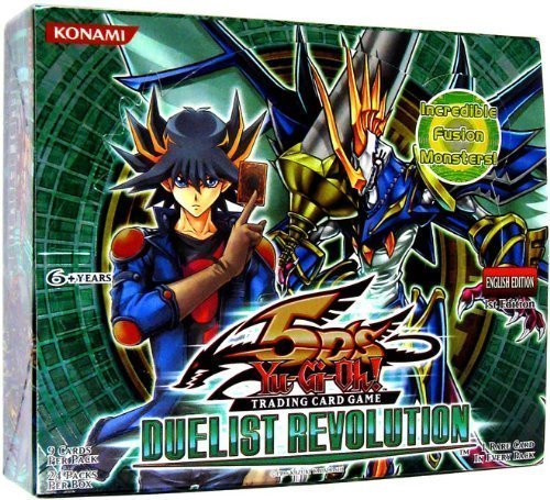 YuGiOh 5Ds Duelist Revolution UNLIMITED Edition Booster Box 24 Packs 2nd (Revolution Booster Box)
