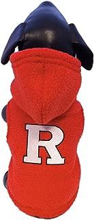 product image for NCAA Rutgers Scarlet Knights Polar Fleece Hooded Dog Jacket