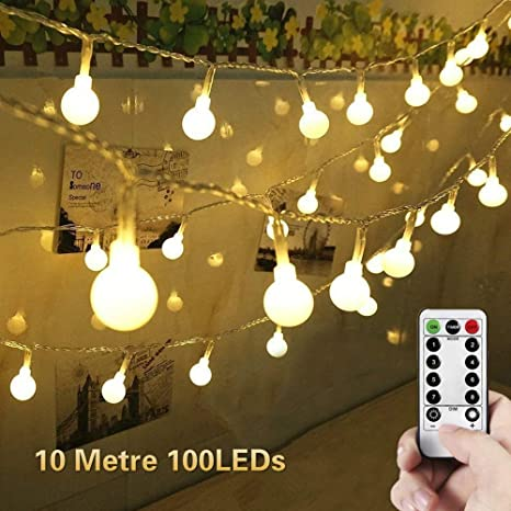 Reliable 6m 20 Led Clear Globe Indoor Outdoor Decoration Plastic Bulb Festoon Party Garden Yard Fence Lamp Holiday String Lights 2019 Official Access Control Kits Security & Protection