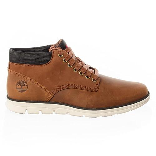 Timberland Bradstreet Chukka A Brown Collo Leatherred FgSneaker XPukZi