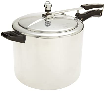 Hawkins�Classic New Improved Small Aluminum Pressure Cooker, 6.5 Litres, Silver