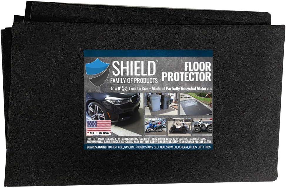 Shield Family Floor Protector Premium Absorbent Oil Mat