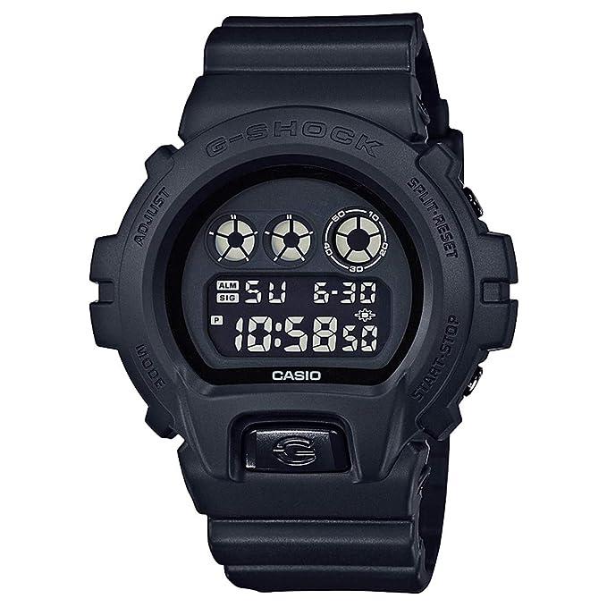 Casio G-Shock Men's Black Out Basic Series All Black Resin Watch DW6900BB-1