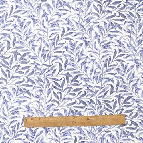 Licensed William Morris Willow Bough Blue Pack of 4 100/% Cotton Floral Napkins