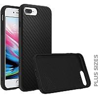 RhinoShield Coque pour iPhone 8 Plus/iPhone 7 Plus [SolidSuit] Housse Fine avec Technologie Absorption des Chocs & Finition Premium - [Résiste aux Chutes de Plus de 3,5 mètres] - Fibre de Carbone
