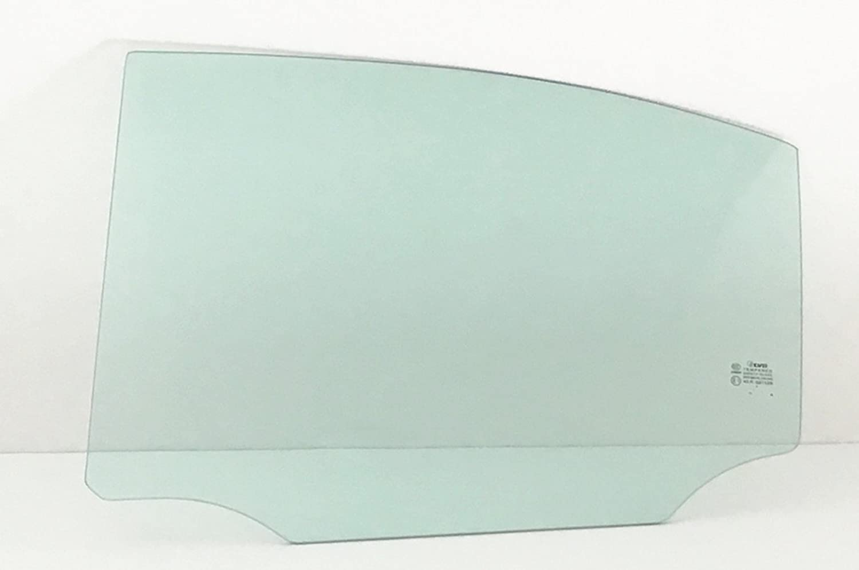 NAGD Driver//Left Side Rear Door Window Glass Replacement for Lexus IS250 4 Door Sedan 2006-2013