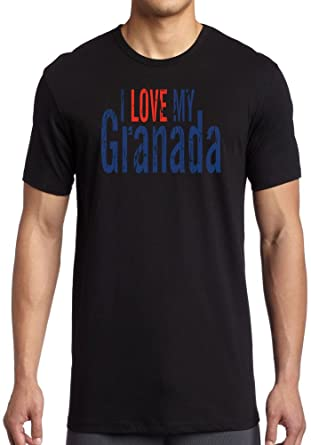 i love my granada perfect for car lovers dtg print mens t shirt