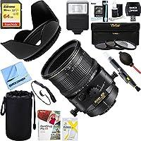 Nikon (2175) PC-E Micro NIKKOR 85mm f/2.8D Lens + 64GB Ultimate Filter & Flash Photography Bundle