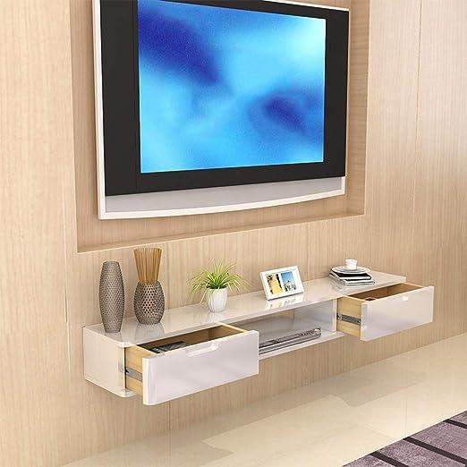 LXYFMS Mueble de Estante para televisor montado en la Pared ...