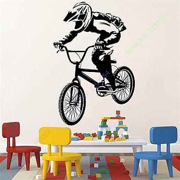 Pegatinas De Pared Bmx Bike Biker Bicicletas Para Habitación De ...