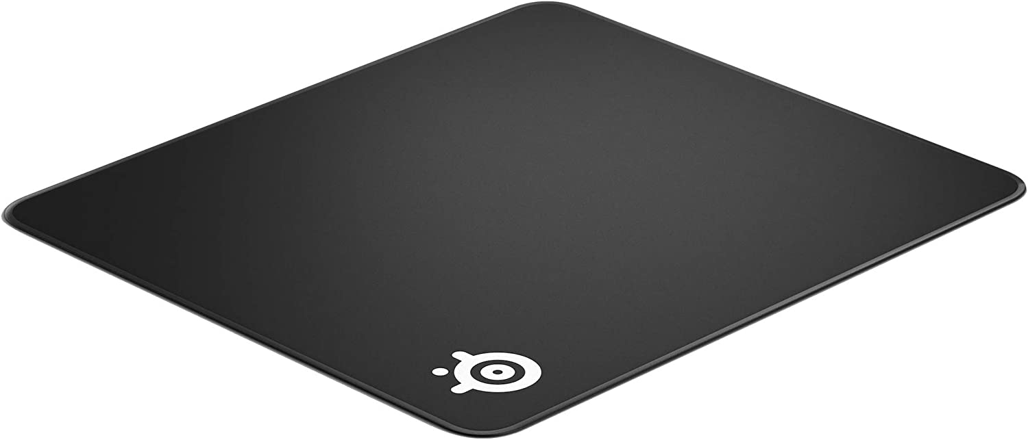 SteelSeries QcK Edge - Cloth Gaming Mouse Pad - stitched edge to prevent wear and tear - optimized for gaming sensors - size L