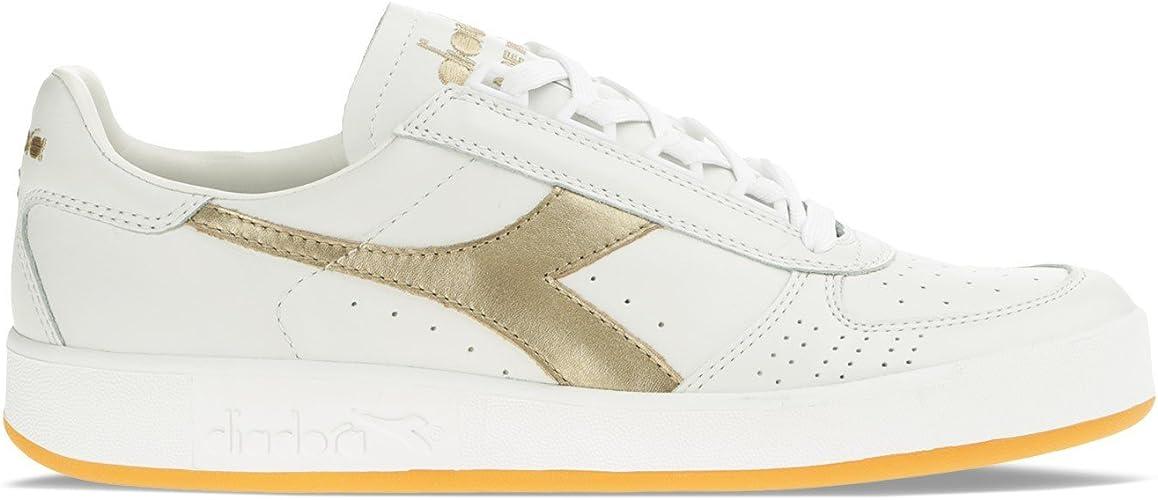 Diadora, Uomo, B. Elite Italia, Pelle, Sneakers, Bianco, 43 EU