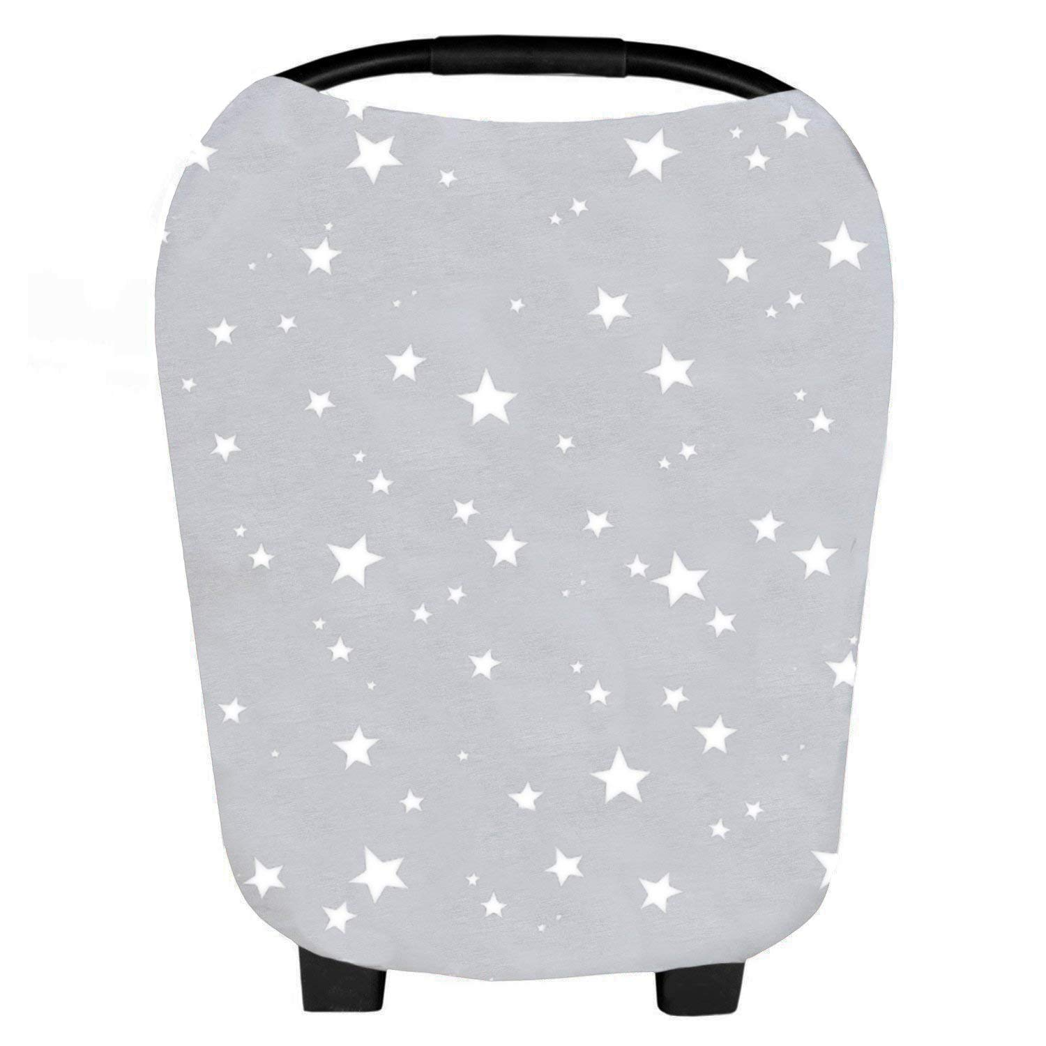 Baby Car Seat Cover & Multi-Use Nursing Cover 5 in 1 Canopy Starry by Belle & Baby Pop Arrow