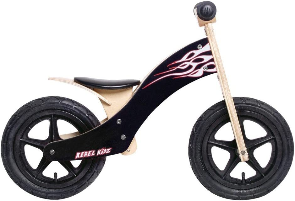 Bici Aprendizaje Rebel Kidz Wood Air Madera, 12