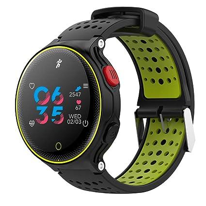 WLPT Smartwatch Resistente al Agua, rastreador de Ritmo ...