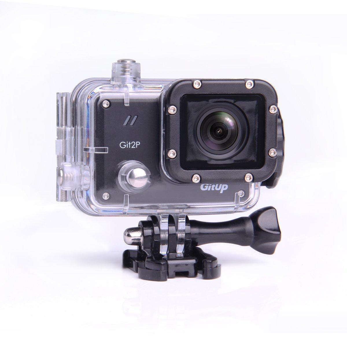 GitUp GIT2P Pro Sport Aktion Unterwasser-Kamera, Panasonic Sensor, 170 ° FOV WiFi Aktioncamera 30m wasserdichte Kamera DVR - Pro Edition 170 ° FOV WiFi Aktioncamera 30m wasserdichte Kamera DVR - Pro Edition (170 ° Grad Lens) RtTech - GitUp