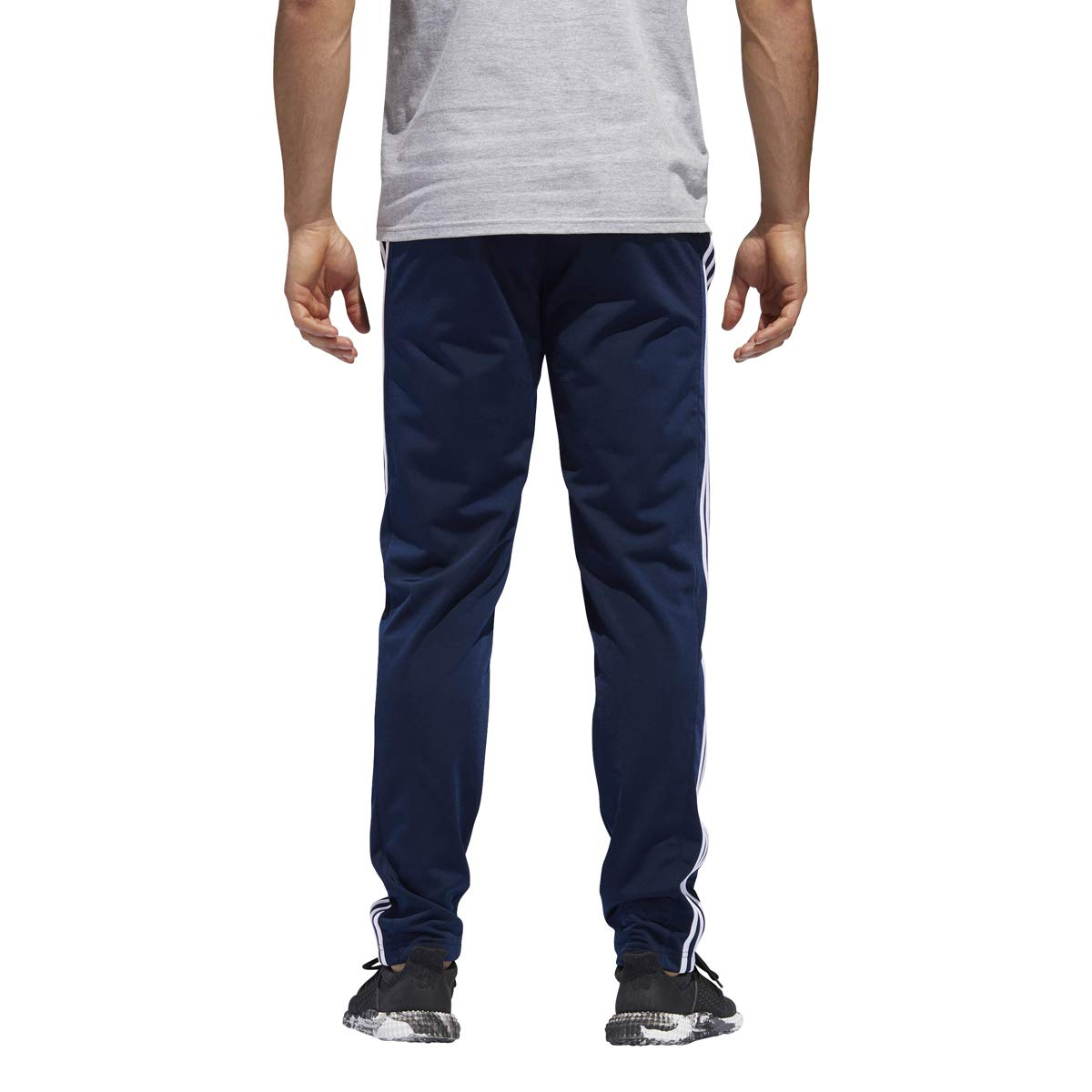 adidas Men's Essential Track Pants Gameday Pant (Navy/White, X-Large)