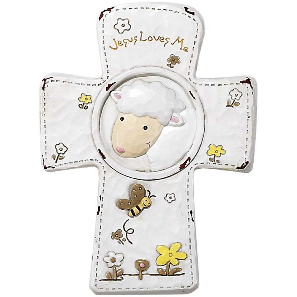 Dicksons Jesus Loves Me Cross, Lamb