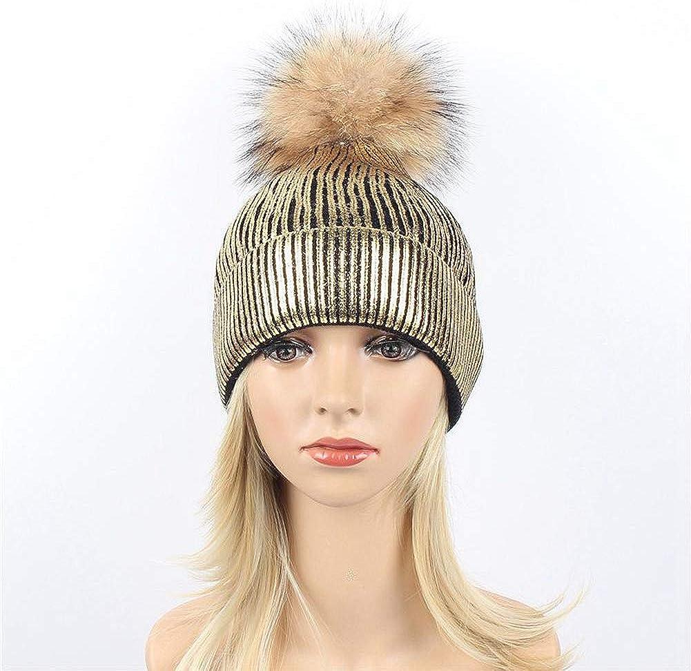 Ealafee Winter Hats Women Beret Skull Caps Beanie Hat Pom Fedora Cloche