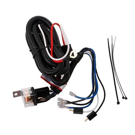 Kalttoy - Juego de arnés de cableado eléctrico de 12 V para ...