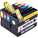 Set of 4 Compatible 932XL 933XL Ink Cartridges For HP OFFICEJET 6100 6600 6700 7110 7610