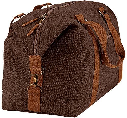 BagBase - Bolso al hombro para hombre Marrón Vintage Brown talla única
